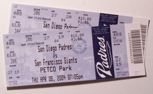 padre ticket deals